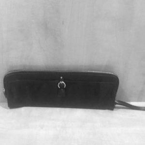 Handbags - Tano black leather clutch
